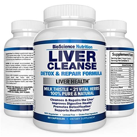 Best Vitamins For Liver Detox by Top 10 Best Liver Cleanse Products For 2018 Top Ten Select