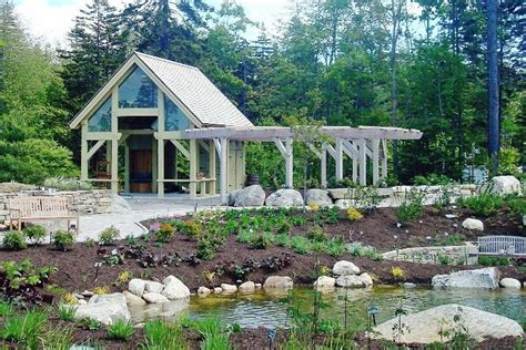 Landscape Timbers Maine Barn Builder Maine Barn Construction Timber Frame