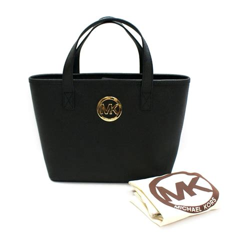 Michael Kors Jet Set XS Small Travel Tote Black