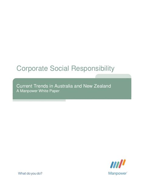 Csr Corporate Social Responsibility Bambang Rudito reading csr current trends in australia and nz