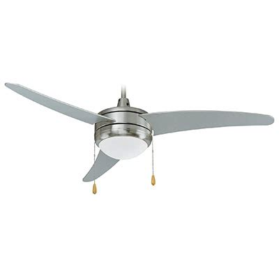 curved blade ceiling fan ceiling fan contemporary led 50 quot 3 curved blades