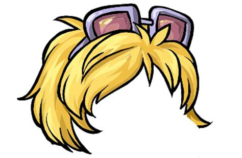penguin lodge hair image dot s hair 2 png club penguin wiki the free