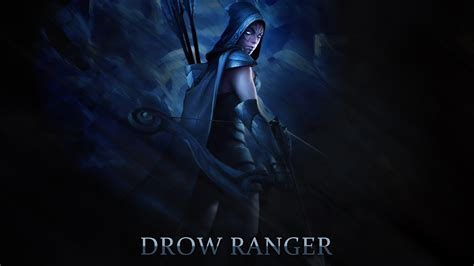 dota 2 big wallpaper dota2 drow ranger hd desktop wallpapers