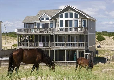 outer banks 4x4 house rentals twiddy outer banks vacation home grey goose 4x4