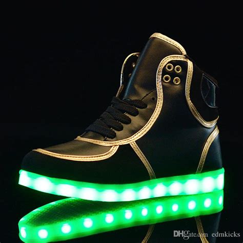 sport light up shoes light up shoes sports sneakers high top usb