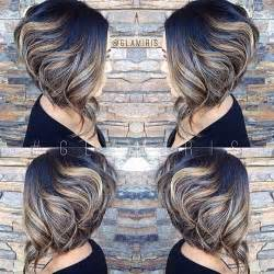 a line haircut ombre color 25 short inverted bob hairstyles short hairstyles 2016