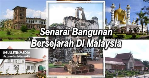 Senarai Oven Di Malaysia senarai bangunan bersejarah di malaysia pt3 2016