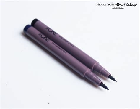 Eyeliner The One oriflame the one eye liner stylo black blue review