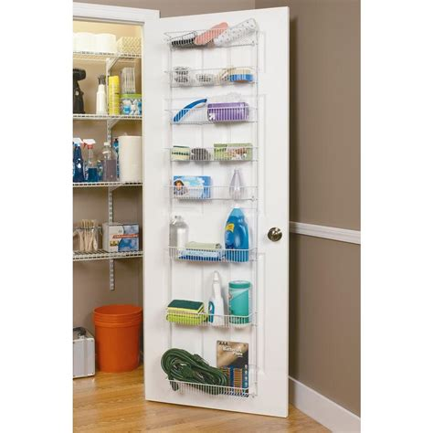 Closet Door Storage Racks Closetmaid Pantry Shelves Roselawnlutheran
