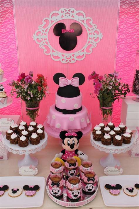 birthday themes minnie mouse 1202 best minnie mouse party ideas images on pinterest