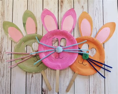 paper crafts for easter 3 easy easter crafts with paper plates someone s