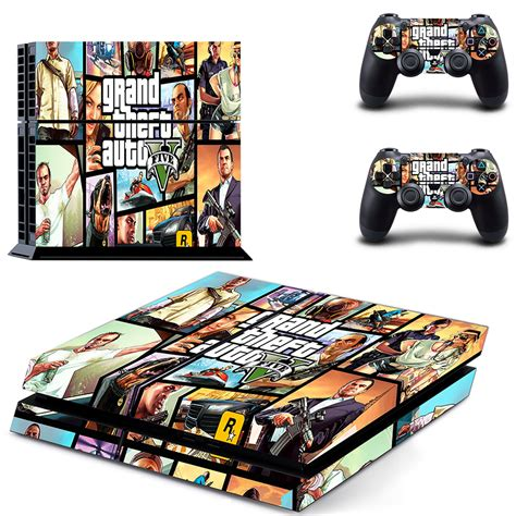 home design games ps4 gta v ps4 skin for console and controllers faceplates