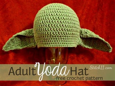 knit yoda hat pattern crochet yoda hat pattern free