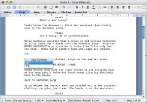 script it creative writing software for stage