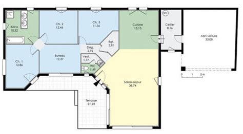 plan de maison 5 chambres plan plain pied 5 chambres bricolage maison
