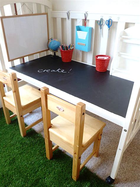 18 Diy Desks To Enhance Your Home Office Diy Desk For Two