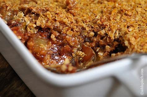 apple crisp recipe add a pinch