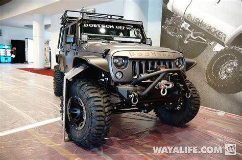 Jeep Wrangler Lifespan 2013 Sema Project Doomsday Jeep Jk Wrangler 4 Door Jeep