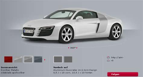 Audi Konfiguration audi konfigurator mach parat