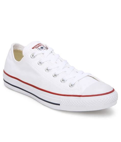 converse white casual shoes