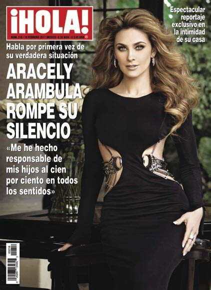 imagenes hola luis aracely arambula dishes on luis miguel in hola