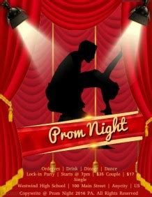 js prom layout customizable design templates for prom flyer postermywall