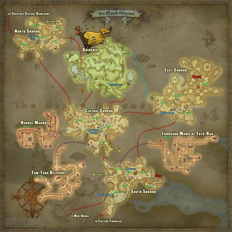 ffxiv maps december moon entry quot an useful zones level map