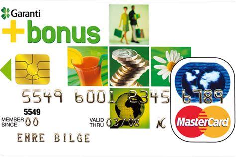 program garanti bank garanti bankası bonus kart