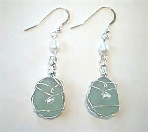gallery for gt how to make sea glass jewelry