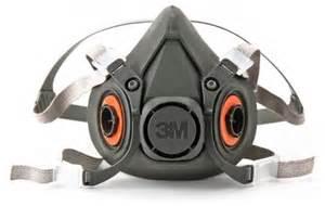 3m Masker 6100 6300 3m 6000 series half facepiece reusable respirator