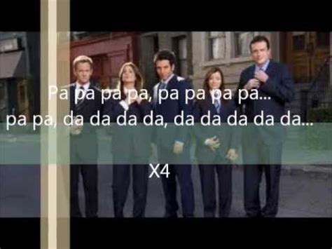 theme song how i met your mother hey beautiful the solids lyrics how i met your mother