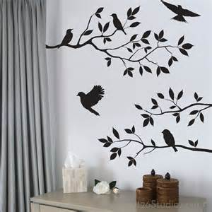 Wall Stickers Branches Birds And Branches Wall Decals Wall Decals San