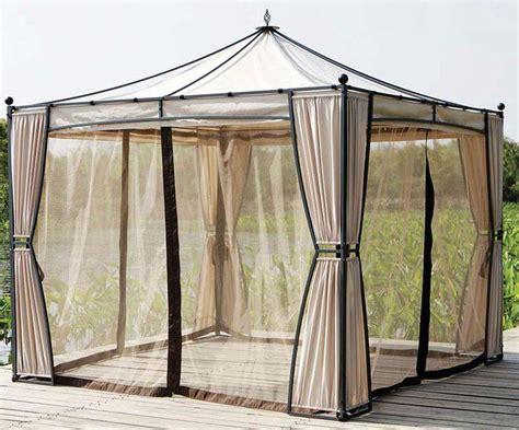 gazebo mosquito netting gazebo with mosquito netting assembly