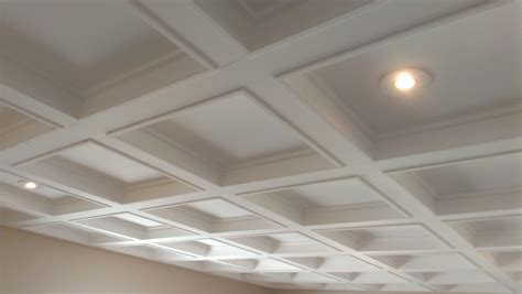 Images Of Coffered Ceilings by Jazzing Up A Plain Ceiling Into A Coffered Ceiling 720hero
