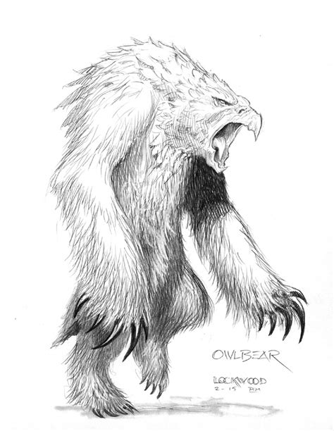 Art Gallery: Orso Gufo (Owl Bear) - Planescape.it