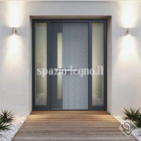 portone di ingresso portoni ingresso alluminio spazio legno srl