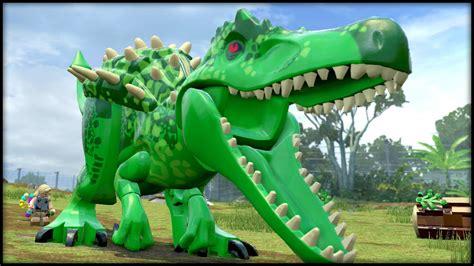 L A Rex lego jurassic world indominus
