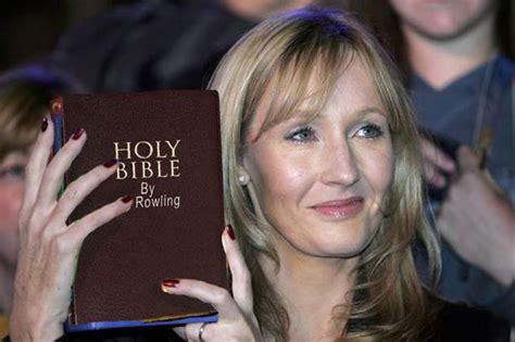 jk rowling illuminati church hires jk rowling to rewrite the bible waterford