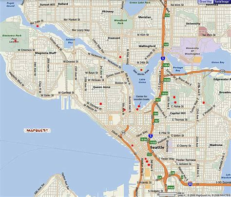 seattle mapquest seattle parks tours mapquest seattle map