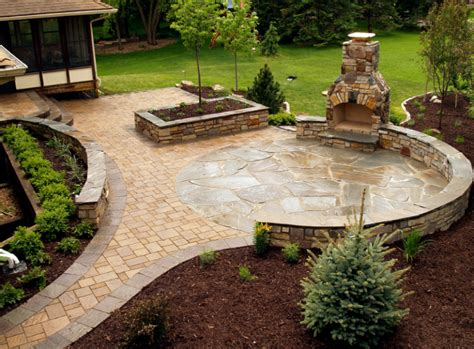 backyard stone patio ideas 20 best stone patio ideas for your backyard runtedrun