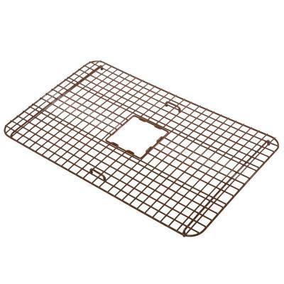 copper farmhouse sink grid sinkology wright copper kitchen sink bottom grid heavy