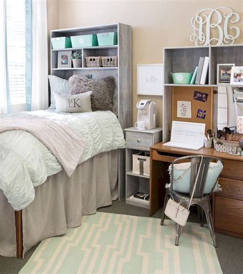 brilliant dorm room organization