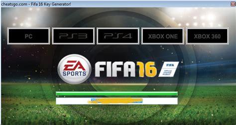 Fifa 16 key generator cheatsgo