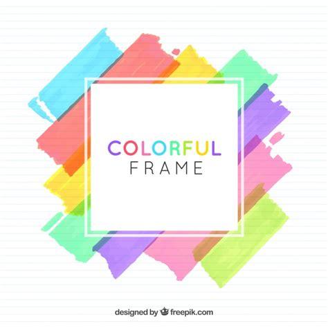 freepik com watercolor frame background vector free download