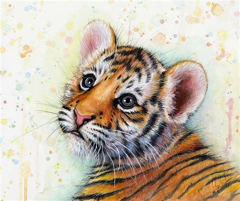 animal painting water color animal painting craft gift ideas