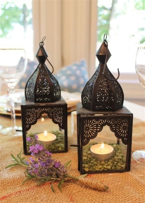 decorate  moroccan lanterns  easy tables cape