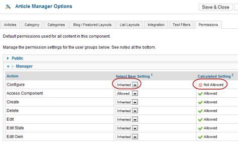joomla acl tutorial j3 x access control list tutorial joomla documentation