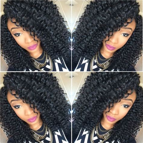 crochet braids using brazilian hair 36 best synthetic jerry curly hair images on pinterest