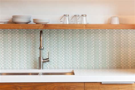 groutless kitchen backsplash basketweave tile herringbone subway tile backsplash