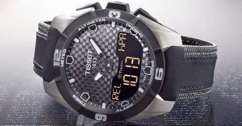 Jam Tangan Tissot Mission Impossible smart tissot touch pro solar style